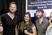 (L-R) Charles Kelley, Hillary Scott, and Dave Haywood of Lady Antebellum attend the 54th Academy Of Country Music Awards Cumulus/Westwood One Radio Remotes on April 06, 2019 in Las Vegas, Nevada.
