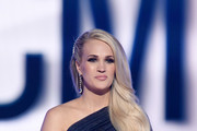 Carrie Underwood performs onstage during the 54th Academy Of Country Music Awards at MGM Grand Garden Arena on April 07, 2019 in Las Vegas, Nevada.