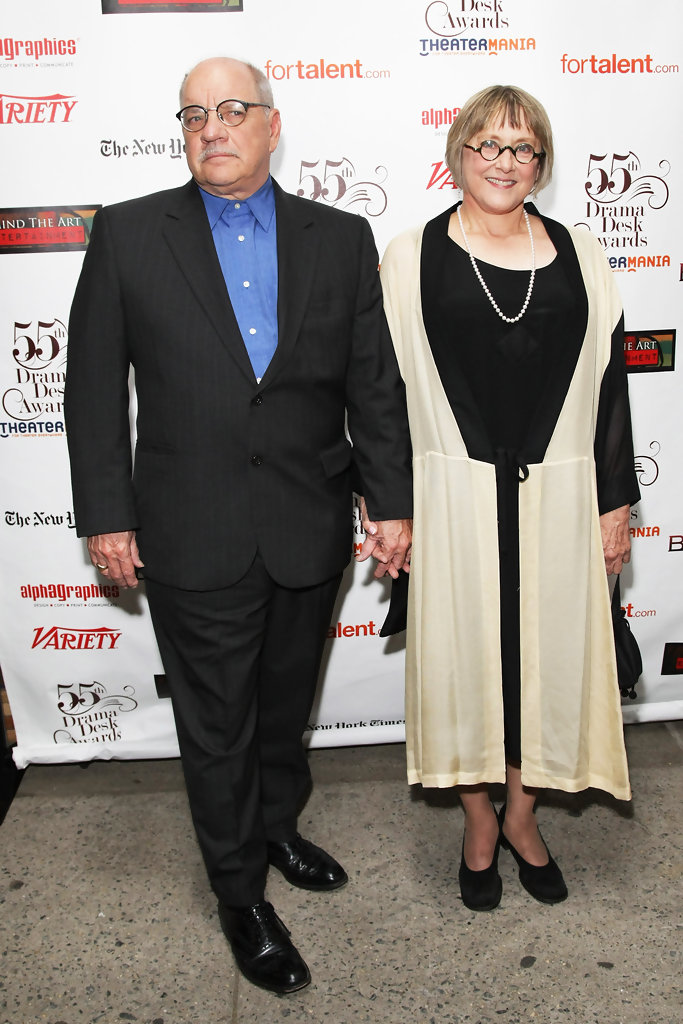 Paul Schrader with sweet, Wife Mary Beth Hurt