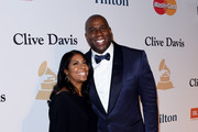 Magic Johnson and Earlitha Kelly Photos Photo