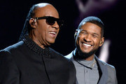 Stevie Wonder and Usher Photos Photo