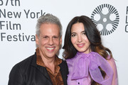 """Josh Pais and Marie Forleo attend the 57th New York Film Festival """"Joker"""" Arrivals at Alice Tully Hall, Lincoln Center on October 02, 2019 in New York City."""