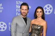 "Edgar Ramirez and Penelope Cruz attend the 57th New York Film Festival ""Wasp Network"" arrivals at Alice Tully Hall, Lincoln Center on October 05, 2019 in New York City."