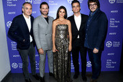 "Oliverier Assayas, Edgar Ramirez, Penelope Cruz, Wagner Moura and Rodrigo Texeira attend the 57th New York Film Festival ""Wasp Network"" arrivals at Alice Tully Hall, Lincoln Center on October 05, 2019 in New York City."