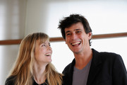 """Actor Louis Ronan Choisy and actress Isabelle Carre attend """"Le Refuge"""" photocall at the Kursaal Palace during the 57th San Sebastian International Film Festival on September 19, 2009 in San Sebastian, Spain."""