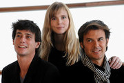 """(L to R) Actor Louis Ronan Choisy, actress Isabelle Carre and director Francois Ozon  attend """"Le Refuge"""" photocall at the Kursaal Palace during the 57th San Sebastian International Film Festival on September 19, 2009 in San Sebastian, Spain."""