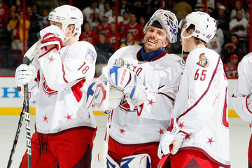 Marc Staal Henrik Lundqvist 58th NHL All-Star Game