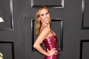 TV personality Keltie Knight attends The 59th GRAMMY Awards at STAPLES Center on February 12, 2017 in Los Angeles, California.