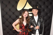 Musicians Joy Huerta and Jesse Huerta of Jesse & Joy attend The 59th GRAMMY Awards at STAPLES Center on February 12, 2017 in Los Angeles, California.