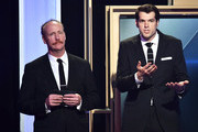 Actors Matt Walsh (L) and Timothy Simons speak onstage at the 5th Annual Critics' Choice Television Awards at The Beverly Hilton Hotel on May 31, 2015 in Beverly Hills, California.