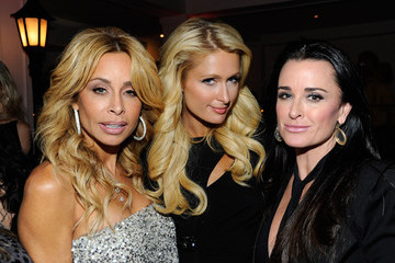 Paris Hilton Kyle Richards 5th Annual Rock The Kasbah Gala In Support Of Virgin Unite And The Eve Branson Foundation