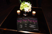 Programs displayed at the Producers and Engineers Wing 11th Annual GRAMMY Week Event Honoring Swizz Beatz And Alicia Keys at The Rainbow Room on January 25, 2018 in New York City.