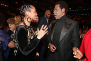 Recording artists Alicia Keys and Jay-Z attend the 60th Annual GRAMMY Awards at Madison Square Garden on January 28, 2018 in New York City.