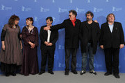 (L-R) Actress Yolande Moreau, actress Miss Ming, producer Jean-Pierre Guerin, directors Benoit Delepine, Gustave de Kervern and actor Gerard Depardieu attend the 'Mammuth' Photocall during day nine of the 60th Berlin International Film Festival at the Grand Hyatt Hotel on February 19, 2010 in Berlin, Germany.