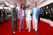 Rock Band Weezer attends the 61st Annual GRAMMY Awards at Staples Center on February 10, 2019 in Los Angeles, California.