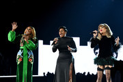 Yolanda Adams, Fantasia and Andra Day during the 61st Annual GRAMMY Awards at Staples Center on February 10, 2019 in Los Angeles, California.