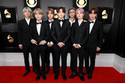BTS attends the 61st Annual GRAMMY Awards at Staples Center on February 10, 2019 in Los Angeles, California.