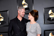 (L-R) Sean Larkin and Lana Del Rey attend the 62nd Annual GRAMMY Awards at Staples Center on January 26, 2020 in Los Angeles, California.
