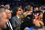 (L-R) Beck and Cosimo Henri attend the 62nd Annual GRAMMY Awards at STAPLES Center on January 26, 2020 in Los Angeles, California.