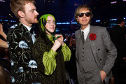(L-R) Finneas O'Connell, Billie Eilish, and Beck attend the 62nd Annual GRAMMY Awards at STAPLES Center on January 26, 2020 in Los Angeles, California.