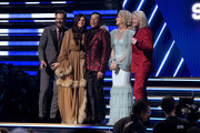 Smokey Robinson (C) performs with Jimi Westbrook, Karen Fairchild, Kimberly Schlapman and Phillip Sweet of Little Big Town onstage during the 62nd Annual GRAMMY Awards at Staples Center on January 26, 2020 in Los Angeles, California.