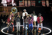 Preservation Hall Jazz Band perform onstage during the 62nd Annual GRAMMY Awards at STAPLES Center on January 26, 2020 in Los Angeles, California.