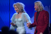 Kimberly Schlapman and Phillip Sweet of Little Big Town walk onstage during the 62nd Annual GRAMMY Awards at Staples Center on January 26, 2020 in Los Angeles, California.