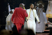 (L-R) YG and John Legend perform onstage during the 62nd Annual GRAMMY Awards at Staples Center on January 26, 2020 in Los Angeles, California.