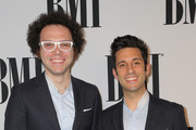 Recording artists Ian Axel (L) and Chad Vaccarino of A Great Big World attend the 63rd Annual BMI Pop Awards held at the  Beverly Wilshire Hotel on May 12, 2015 in Beverly Hills, California.