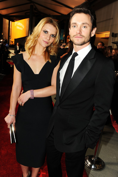 Actress Claire Danes (L) and actor Hugh Dancy arrive at the 63rd Annual Directors Guild Of America Awards held at the Grand Ballroom at Hollywood & Highland on January 29, 2011 in Hollywood, California.