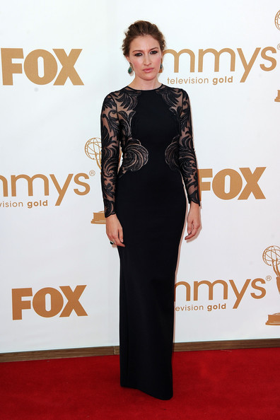 Actress Kelly Macdonald arrives at the 63rd Annual Primetime Emmy Awards held at Nokia Theatre L.A. LIVE on September 18, 2011 in Los Angeles, California.