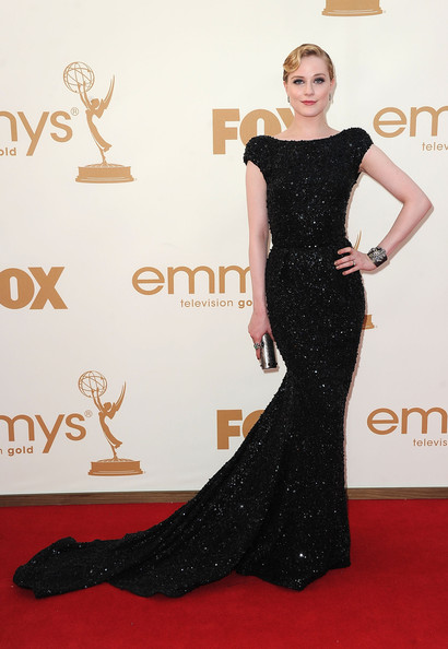 Actress Evan Rachel Wood arrives at the 63rd Annual Primetime Emmy Awards held at Nokia Theatre L.A. LIVE on September 18, 2011 in Los Angeles, California.