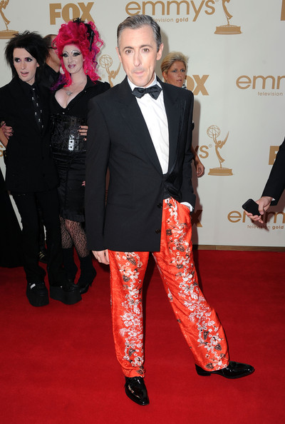 Actor Alan Cumming arrives at the 63rd Annual Primetime Emmy Awards held at Nokia Theatre L.A. LIVE on September 18, 2011 in Los Angeles, California.