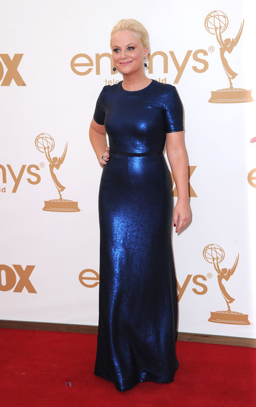 Actress Amy Poehler arrives at the 63rd Annual Primetime Emmy Awards held at Nokia Theatre L.A. LIVE on September 18, 2011 in Los Angeles, California.