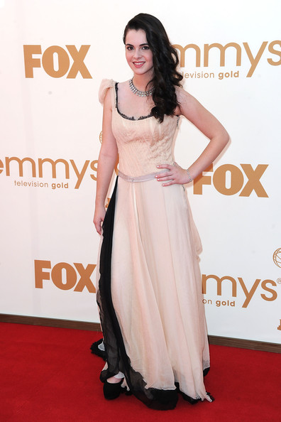 Actress Vanessa Marano arrives at the 63rd Annual Primetime Emmy Awards held at Nokia Theatre L.A. LIVE on September 18, 2011 in Los Angeles, California.