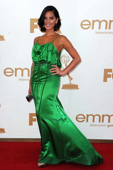 Actress Olivia Munn arrives at the 63rd Annual Primetime Emmy Awards held at Nokia Theatre L.A. LIVE on September 18, 2011 in Los Angeles, California.