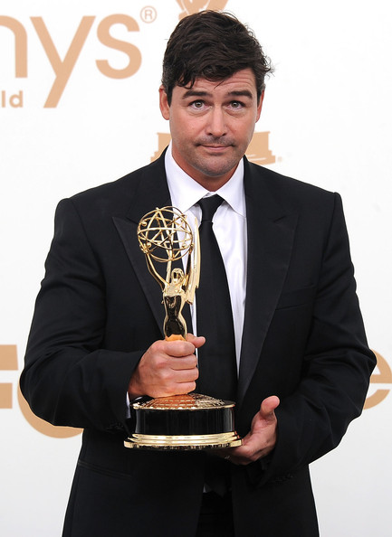 Actor Kyle Chandler of 'Friday Night Lights' poses in the press room after winning Outstanding Lead Actor in a Drama Series during the 63rd Annual Primetime Emmy Awards held at Nokia Theatre L.A. LIVE on September 18, 2011 in Los Angeles, California.