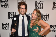 Editor Adam Penn and actress Amanda Fuller attend the 65th Annual ACE Eddie Awards at The Beverly Hilton Hotel on January 30, 2015 in Beverly Hills, California.