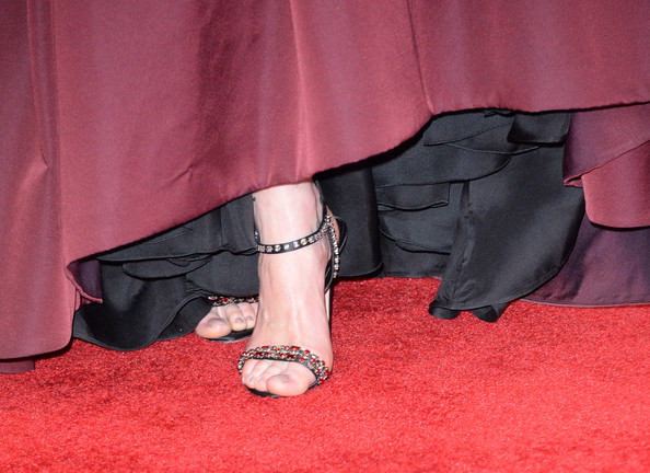 michelle dockery feet