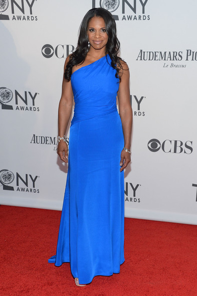Audra McDonald attends the 66th Annual Tony Awards at The Beacon Theatre on June 10, 2012 in New York City.