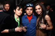 (L-R) Actors Celia Au, Ralph Rodriguez and Samantha Jade Logan attend the 2011 Tribeca Film Festival after-party for Detachment hosted by 675 Bar at 675 Bar on April 25, 2011 in New York City.