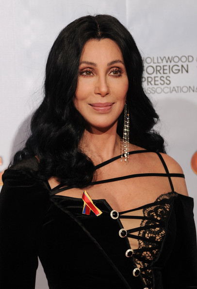 cher in 67th annual golden globe awards press room zimbio. Black Bedroom Furniture Sets. Home Design Ideas