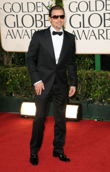 Actor Brad Pitt arrives at the 68th Annual Golden Globe Awards held at The Beverly Hilton hotel on January 16, 2011 in Beverly Hills, California.