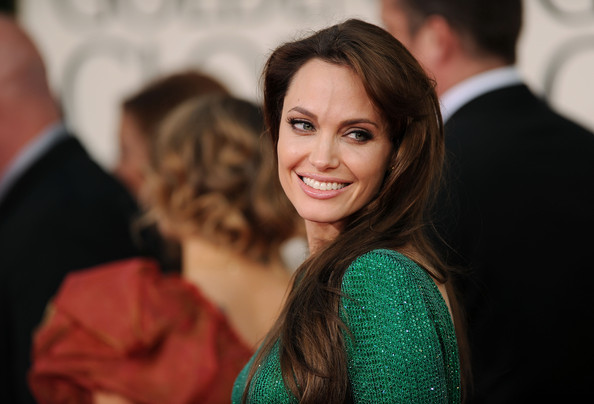 Actress Angelina Jolie arrives at the 68th Annual Golden Globe Awards held at The Beverly Hilton hotel on January 16, 2011 in Beverly Hills, California.