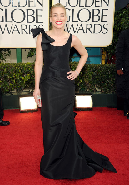 Actress Piper Perabo arrives at the 68th Annual Golden Globe Awards held at The Beverly Hilton hotel on January 16, 2011 in Beverly Hills, California.