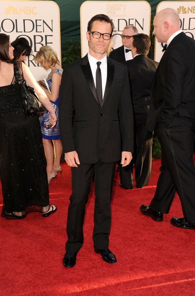 Actor Guy Pearce arrives at the 68th Annual Golden Globe Awards held at The Beverly Hilton hotel on January 16, 2011 in Beverly Hills, California.