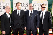 (L-R) Actors C.S. Lee, Desmond Harrington, David Zayas and James Remar arrive at the 68th Annual Golden Globe Awards held at The Beverly Hilton hotel on January 16, 2011 in Beverly Hills, California.