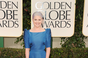 TV personality Kelly Osbourne arrives at the 69th Annual Golden Globe Awards held at the Beverly Hilton Hotel on January 15, 2012 in Beverly Hills, California.