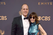 President and CEO Showtime David Nevins and producer Andrea Blaugrund Nevins attend the 69th Annual Primetime Emmy Awards at Microsoft Theater on September 17, 2017 in Los Angeles, California.