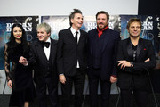 (L-R) Nefer Suvio, Nick Rhodes, John Taylor, Simon LeBon and Roger Taylor of Duran Duran attend the 'Duran Duran:  Unstaged' premiere during the 6th Annual MoMA Contenders Series at Museum of Modern Art on November 4, 2013 in New York City.